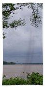 Ohio River Beach Towel by Sandy Keeton