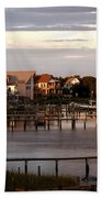 Okracoke Island Nc Sunrise Beach Towel