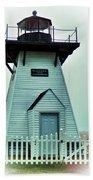 Olcott Lighthouse Beach Towel