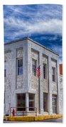Old Bank Building - Peterstown West Virginia Beach Towel