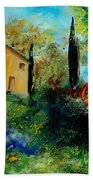Old Barn In Provence  Beach Towel