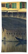 Ponte Vecchio Protection Beach Towel