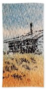 Old Cabin Beach Towel