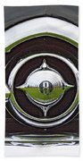 Old Car Grille Beach Towel