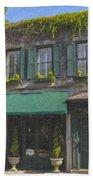 Old Charleston Gardens On 61 Queen Street Beach Towel