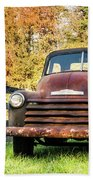 Old Chevy Beach Towel