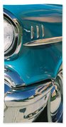 Old Chevy Beach Towel by Steve Karol