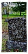 Old Country Cemetery Beach Towel