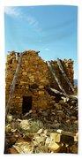 Old Doors Kinishba Ruins Beach Towel