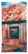 Old Farm House Beach Towel