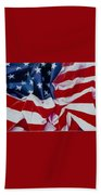 Old Glory  1 Beach Towel