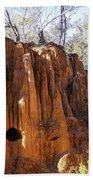 Old Gold Mine Shafts Beach Towel