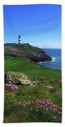 Old Head Of Kinsale Lighthouse Beach Towel