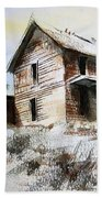 Old House Marysville Ghosttown Montana Beach Sheet