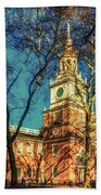 Old Independence Hall Beach Towel