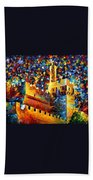 Old Jerusalem Beach Towel