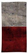 Old Lone Star Flag Beach Towel