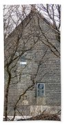 Old Mill Building Beach Towel