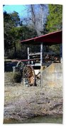 Old Mill Of Guilford Pumphouse Beach Towel