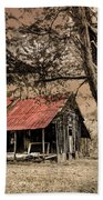 Old Mountain Cabin Beach Towel