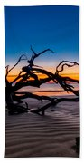 Old Oak New Day Beach Towel by Debra and Dave Vanderlaan