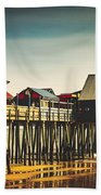 Old Orchard Beach Pier Beach Towel