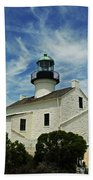 Old Point Loma Lighthouse Beach Towel