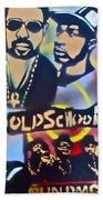 Old School Hip Hop 3 Beach Towel