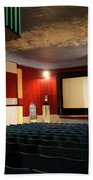 Old Theater Interior 1 Beach Towel by Marilyn Hunt