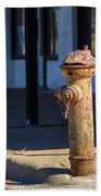 Old Time Hydrant Beach Towel
