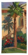 Old Town La Quinta Palm Beach Towel