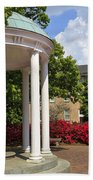 Old Well At Chapel Hill In Spring Beach Towel