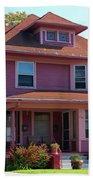 Old West End Pink 5 Beach Towel