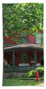 Old West End Red 2 Beach Towel