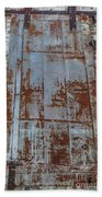 Old World Door Beach Towel