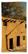 Oldest House In Santa Fe Beach Towel