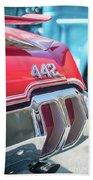 Olds 442 Classic Car Beach Sheet