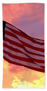 Ole Glory Beach Towel