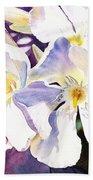 Oleander By Irina Sztukowski Beach Towel