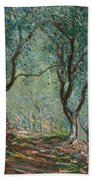 Olive Trees In The Moreno Garden Beach Towel