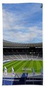 Olympic Stadium Berlin Beach Towel