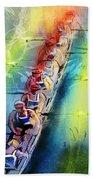 Olympics Rowing 02 Beach Towel