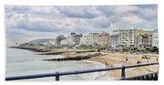 On Brighton's Palace Pier Beach Sheet