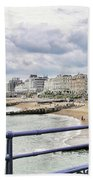 On Brighton's Palace Pier Beach Towel