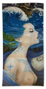 On Deck Moby Dick Beach Towel