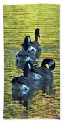 On Golden Pond Beach Towel