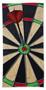 On Target Bullseye Beach Towel