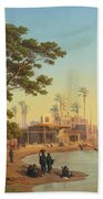 On The Banks Of The Nile Beach Towel