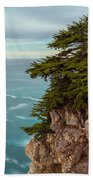 On The Cliff - Vertical Beach Towel