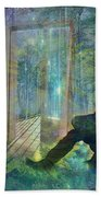 On The Edge Of Summerland 2015 Beach Towel